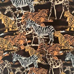 🦓 🦁 🦒 LulaRoe Safari Print Jessie Dress!